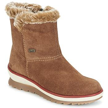 Schoenen Dames Laarzen Rieker BATIA Brown