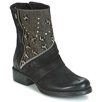 Schoenen Dames Laarzen Dream in Green HOULA Zwart