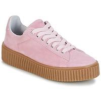 Schoenen Dames Lage sneakers Yurban HADIL Roze