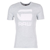 Textiel Heren T-shirts korte mouwen G-Star Raw DRILLON Grijs