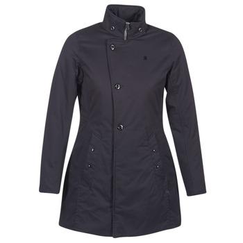 Textiel Dames Parka jassen G-Star Raw MINOR CLASSIC PADDED SLIM COAT Zwart