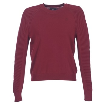 Textiel Dames Truien G-Star Raw SUZAKI KNIT Bordeaux