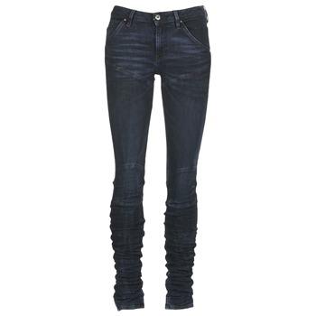 Textiel Dames Skinny Jeans G-Star Raw 5620 STAQ 3D MID SKINNY WMN Marine
