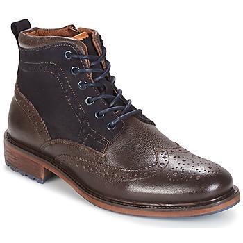 Schoenen Heren Laarzen Coxx Borba RESERVA Brown / Marine