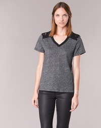 Textiel Dames T-shirts korte mouwen Casual Attitude HINE Grijs