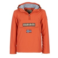 Textiel Heren Parka jassen Napapijri RAINFOREST Orange