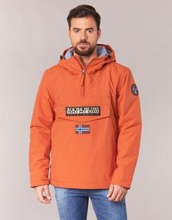 Textiel Heren Parka jassen Napapijri RAINFOREST Orange