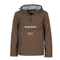 Textiel Heren Parka jassen Napapijri RAINFOREST Brown