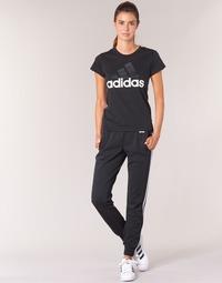 Textiel Dames Trainingsbroeken adidas Performance ESS 3S PANT CH Zwart