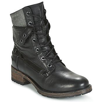 Schoenen Dames Laarzen Pataugas DEDAY Zwart