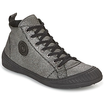 Schoenen Dames Hoge sneakers Pataugas ROCKER Zilver