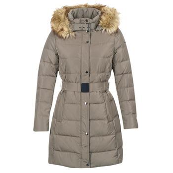 Textiel Dames Dons gevoerde jassen Esprit ORDU TAUPE