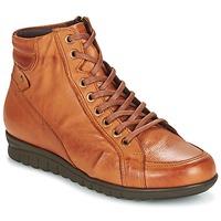 Schoenen Dames Hoge sneakers Pitillos 2631 COGNAC