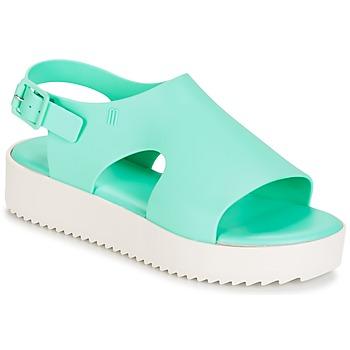 Schoenen Dames Sandalen / Open schoenen Melissa HOTNESS Groen / Wit