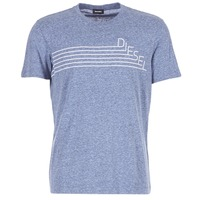 Textiel Heren T-shirts korte mouwen Diesel JOE QF Marine