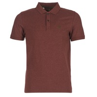 Textiel Heren Polo's korte mouwen Selected ARO Bordeaux