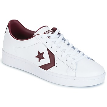Schoenen Heren Lage sneakers Converse PL 76 FOUNDATIONAL LEATHER WITH ELEVATED DETAILING OX WHITE/DEEP Wit / Bordeaux