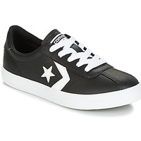 Schoenen Kinderen Lage sneakers Converse BREAKPOINT FOUNDATIONAL LEATHER BP OX BLACK/WHITE/BLACK Zwart / Wit