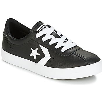 Schoenen Kinderen Lage sneakers Converse BREAKPOINT FOUNDATIONAL LEATHER BP OX BLACK/WHITE/BLACK Zwart / Wit