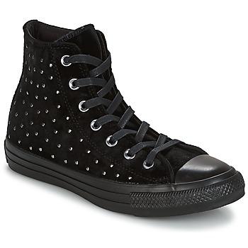 Schoenen Dames Hoge sneakers Converse CHUCK TAYLOR ALL STAR HI Musta
