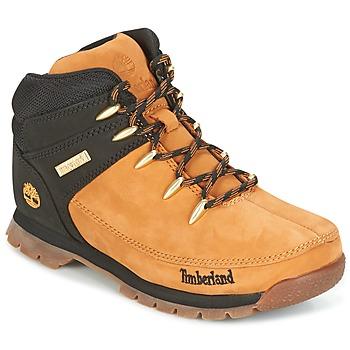 Schoenen Kinderen Laarzen Timberland EURO SPRINT Brown