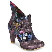 Schoenen Dames Low boots Irregular Choice MIAOW Violet