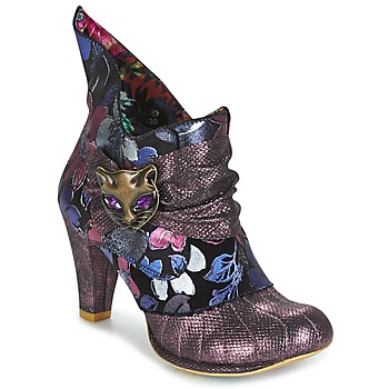 Schoenen Dames Low boots Irregular Choice MIAOW Violet