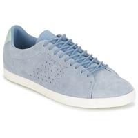 Schoenen Dames Lage sneakers Le Coq Sportif CHARLINE NUBUCK Blauw