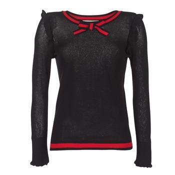 Textiel Dames Truien Morgan MIRTI Zwart / Rood