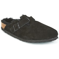 Schoenen Dames Klompen Birkenstock BOSTON Zwart