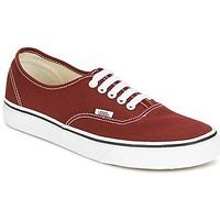 Schoenen Lage sneakers Vans AUTHENTIC Rood