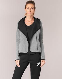 Textiel Dames Sweaters / Sweatshirts Nike TECH FLEECE CAPE FZ Grijs