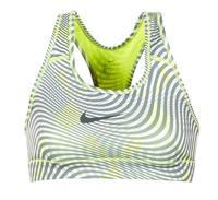 Textiel Dames Sport BHs Nike NIKE PRO CLASSIC BRA Geel / Grijs