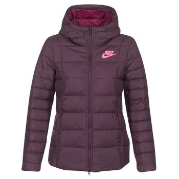 Textiel Dames Dons gevoerde jassen Nike DOWN FILL JKT Bordeaux / Roze