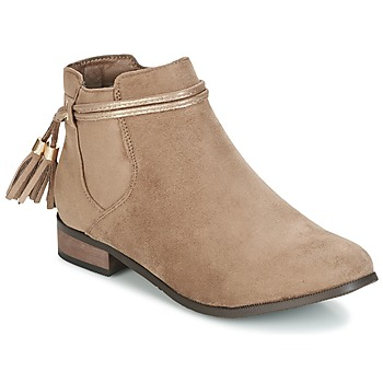 Schoenen Dames Laarzen Moony Mood GATHA Taupe