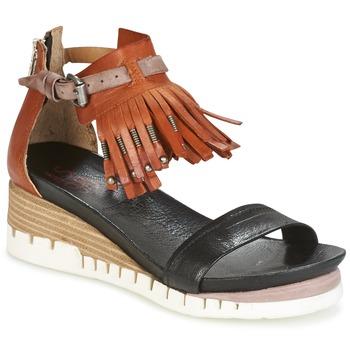Schoenen Dames Sandalen / Open schoenen Airstep / A.S.98 YVES Brown / Zwart