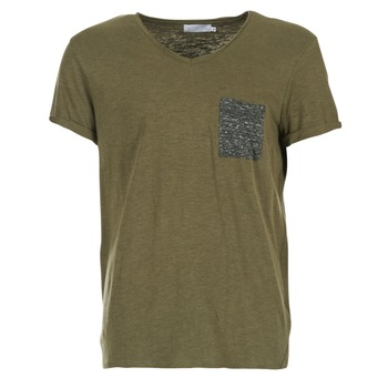 Textiel Heren T-shirts korte mouwen Eleven Paris ABICO Kaki