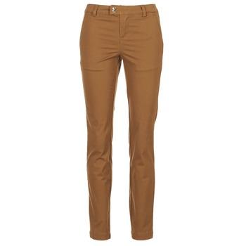 Textiel Dames 5 zakken broeken LPB Shoes CHINAI Cognac