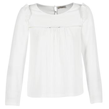 Textiel Dames Tops / Blousjes Betty London HAMONE Ecru
