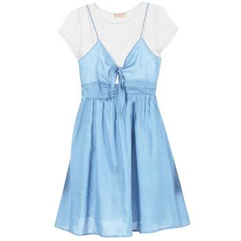 Textiel Dames Korte jurken Moony Mood GLAM Blauw