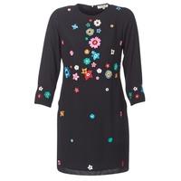 Textiel Dames Korte jurken Derhy BASTILLE Zwart
