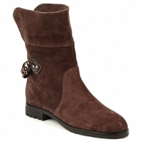 Schoenen Dames Laarzen Marc Jacobs CHAIN BOOTS Brown