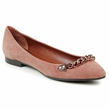 Schoenen Dames Ballerina's Marc Jacobs CHAIN BABIES Brown