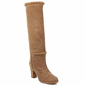 Schoenen Dames Hoge laarzen Veronique Branquinho MERINOS Brown