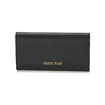 Tassen Dames Portefeuilles Armani jeans SALDI Zwart