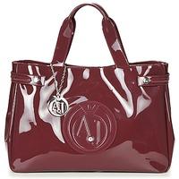 Tassen Dames Handtassen kort hengsel Armani jeans GANSION Bordeaux