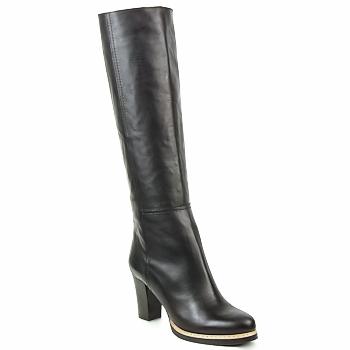 Schoenen Dames Hoge laarzen Jil Sander NATURE Zwart