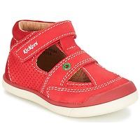 Schoenen Jongens Sandalen / Open schoenen Kickers GOODSPEED Rood
