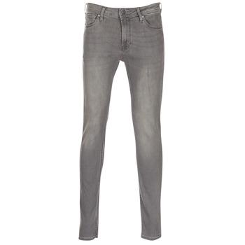 Textiel Heren Skinny jeans Jack & Jones LIAM Grijs