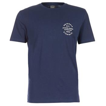 Textiel Heren T-shirts korte mouwen Jack & Jones ORGANIC ORIGINALS Marine